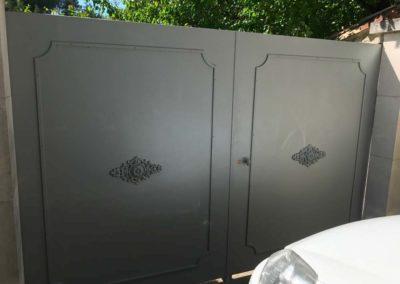 portail ferronnerie rovery MAUSSANE LES ALPILLES